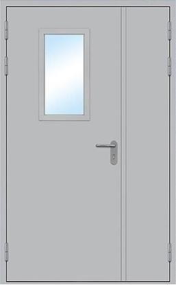 Изображение Дверь противопожарная L200 остекленная 1200х2100